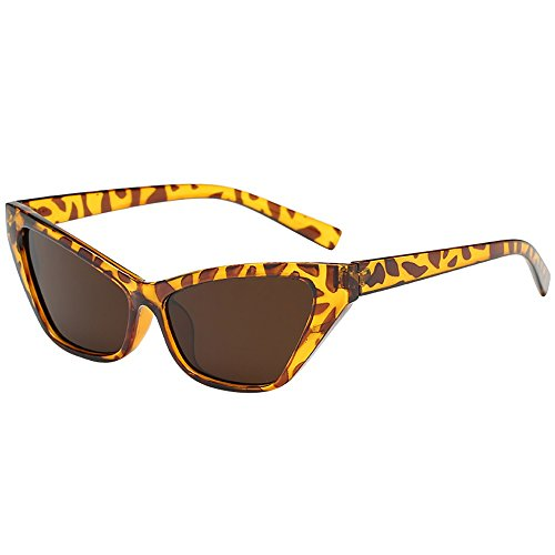 Womens Men Cat Eye Retro Fashion Vintage Large Oversized Lens Sun Glasses UV400 Shades -