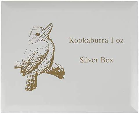 Generisch Kookaburra Münzbox / Kassette / Etui für 40x 1 Oz Silbermünzen