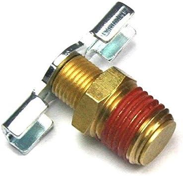 1//4/'/' Npt Brass Drain Valve For Air Compressor Tank Replacement LDUK