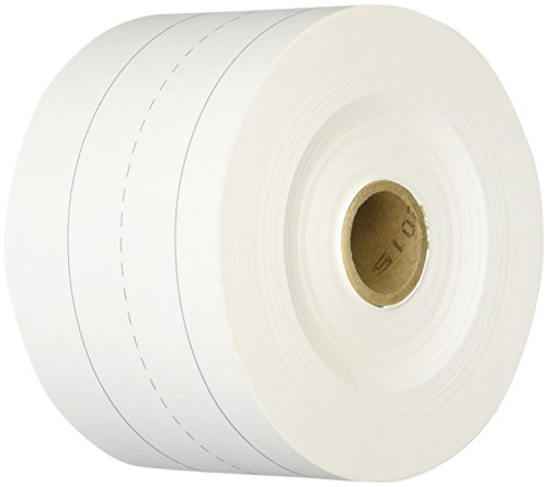 School Smart Sentence Strip Rolls - White Tag - 3 inch x 200 feet (Rolls Sentence Strip)