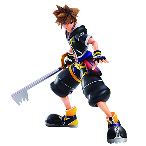 Action Arts Figure 2 Play (Square Enix Kingdom Hearts II: Sora Play Arts Kai Action Figure)