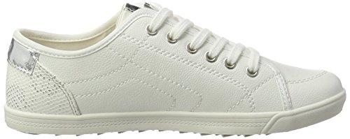 s.Oliver Damen 23631 Sneaker Weiß (White 100)