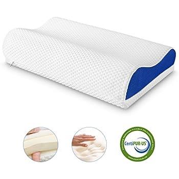 Amazon Com Sleep Innovations Memory Foam Contour Pillow