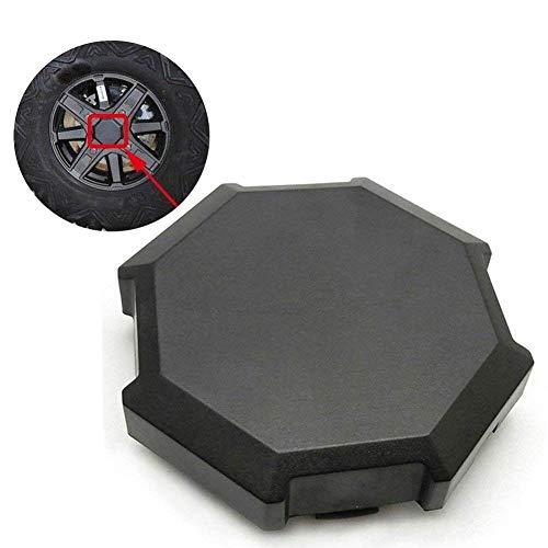 (BUNKER INDUST 1 Pcs Wheel Tire Rim Hub Cap Cover Replacement Part 1522216-655 for Polaris 2014/2015/2016/2017 RZR 1000 900 XP)