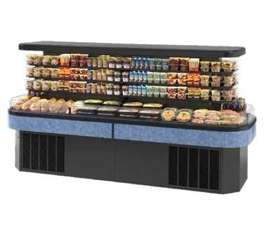 Federal Industries Specialty Display Island Self-Serve Refrigerated Merchandiser, 120-1/2