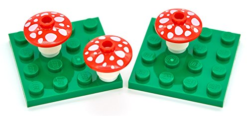 LEGO Red Toadstool Mushroom Pack (Lego Halloween Costumes)