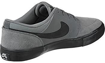 Nike Mens Sb Portmore 2 Solar Dark Greyblack White (9.5) 7
