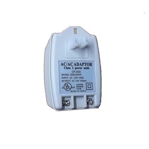 - 24V20AC 24V AC 20VA Transformer Input: AC 110V / 120V 60Hz Output: AC 24V 880mA UL Listed 110V AC