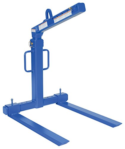 Vestil OLA-4-42 Adjustable Deluxe Overhead Load Lifter, 4000 lb Capacity, 87-7/8 Height