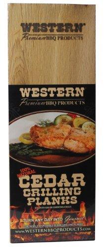 Western Cedar Grilling Planks Cedar