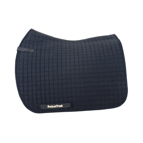 Back on Track Therapeutic All Purpose Horse Saddle Pad, Black