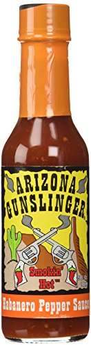 Arizona Gunslingers Habanero Pepper Sauce (1) 5 oz.