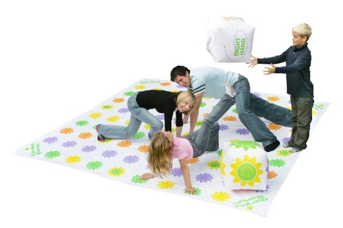 Garden Games Get Knotted 3m x 3m PVC Mat - suitable for up to 30 players! (Twister Game Mat)