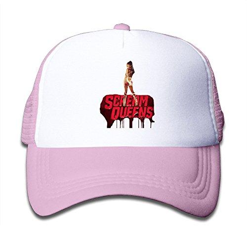 MEGGE Scream Team Queens Fashion Child Grid Cap Pink