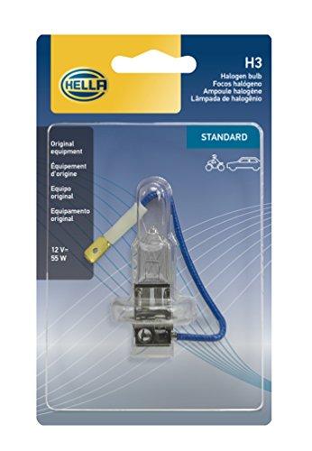 99 Nissan Maxima Euro Headlights - HELLA H3SB Standard-55W Standard Halogen Bulb, 12V, 55W