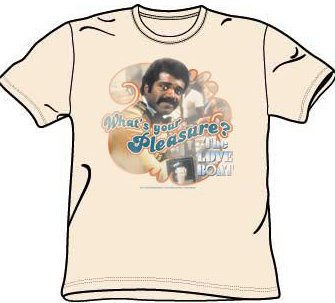 The Love Boat ISAAC Classic Retro Cream Color Adult T-shirt, Large -