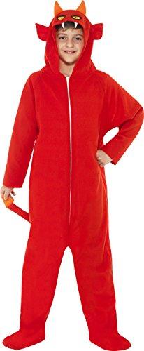 [Devil Child Costume - Small] (Red Devil Child Costume)