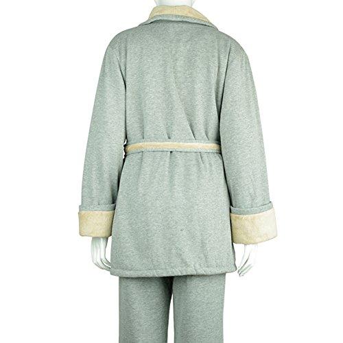 damas otoño/invierno ropa/Acolchada para un cómodo traje de pijama caliente/ el manto/ bata/ atractiva A
