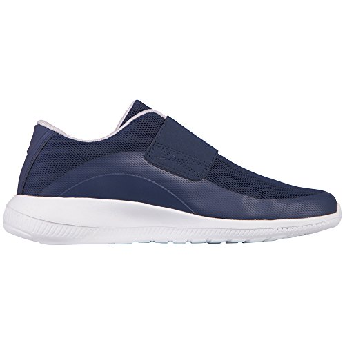 Kappa Midtown - Zapatillas Unisex adulto Azul - azul (6710 Navy/blanco)