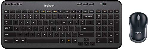 Logitech Wireless Combo K360 - Includes Keyboard with 12 Programmable Keys and Wireless Mouse, Compact Package, 3-Year Battery Life - (with Mouse)