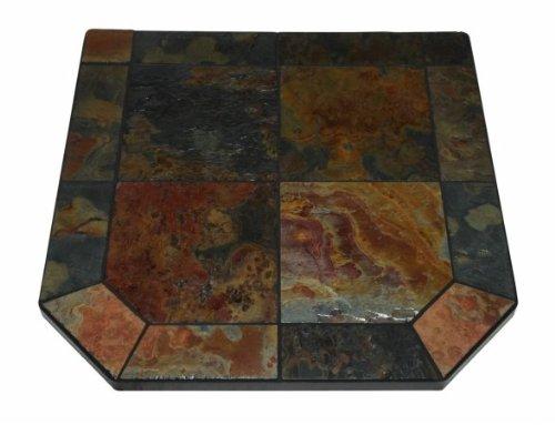 Asian Slate Single Cut Corner Stove Board,40'' x 40''