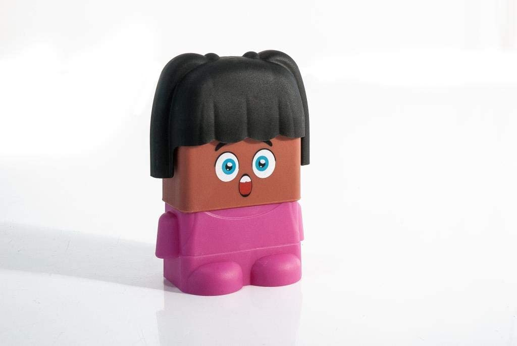 Multi-Color Miniland 32350 Emotiblocks Basic Emotions