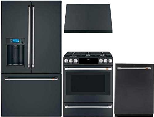 GE CAFE 4 Piece Smart Kitchen Package with CFE28TP3MD1 36