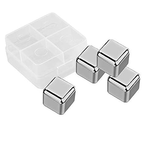 Sanzhileg Cubos de hielo reutilizables de refrigeración de ...