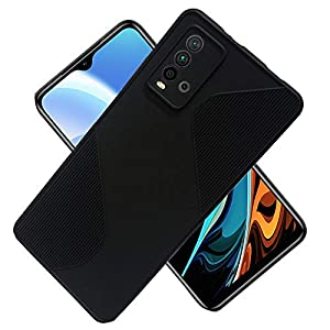 Movariete Back Cover for Redmi 9 Power Matte Soft Silicon Flexible | Camera Bump Protection | All Side Shock Proof…