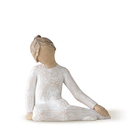 Willow Tree Thoughtful Child (Sitting Angel Figurine)
