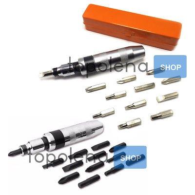 Destornillador Destornillador Impacto Percusión puntas Reversible ...