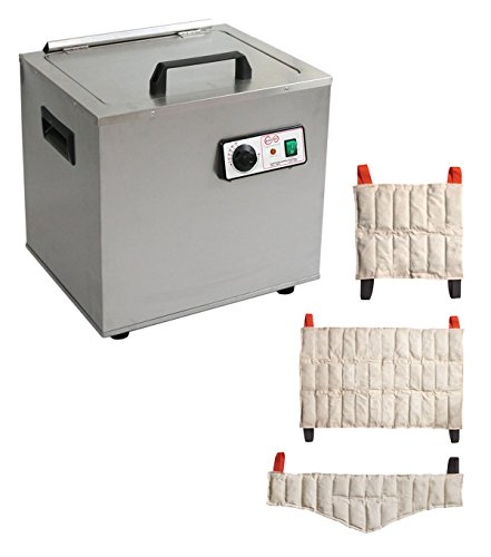 Relief Pak Heating Unit 6 Pack Capacity, Stationary, with 3 Standard, 2 Oversize, 1 Neck, Packs by Relief Pak