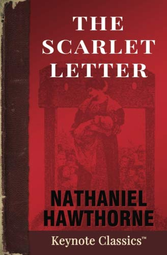 Book cover for The Scarlet Letter
