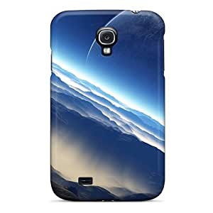AlikonAdama Galaxy S4 Hybrid Cases Covers Bumper Outer Space Planets Moon