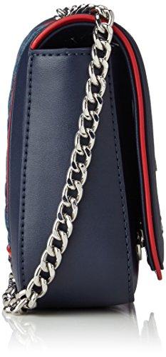 Love Moschino Moschino, Sacs portés épaule femme, Blau (Denim), 6x15x20 cm (B x H T)