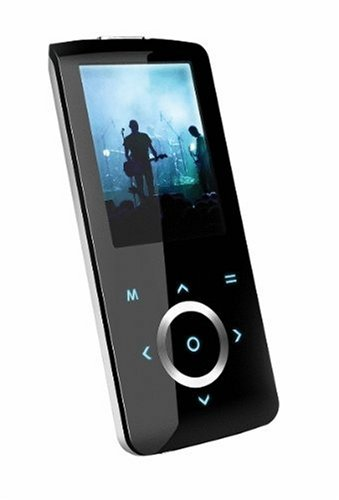 amazon com coby 4 gb flash video mp3 player with fm radio black rh amazon com  Coby 4GB MP4 Player