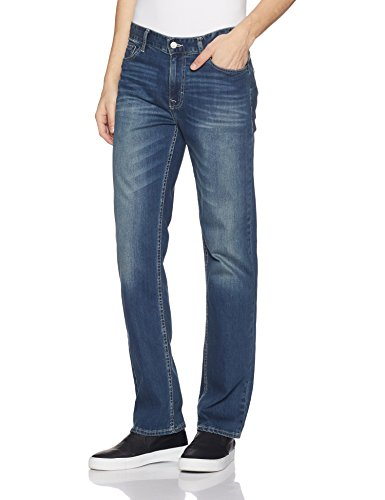 Calvin Klein Men's Straight Jeans, Authentic Blue, 36x32 ()