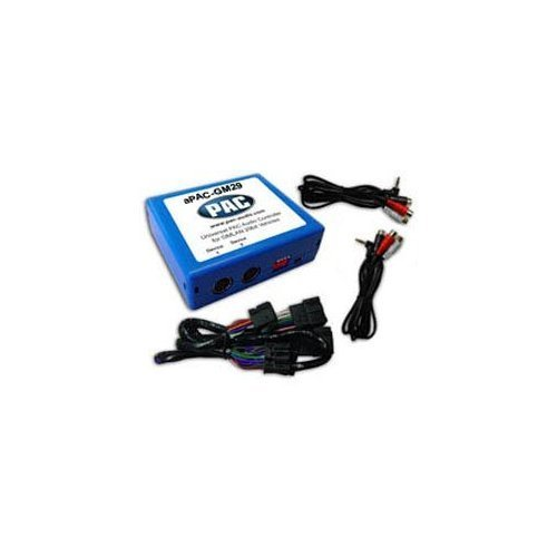 Pac Dual Auxiliary Audio (PAC aPAC-GM29 Dual Auxiliary Audio Input for 2007¿2009 GM 29-Bit Vehicles)