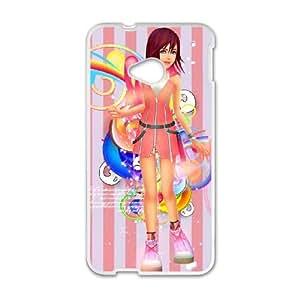 HTC One M7 White phone case Kairi YFN4336420