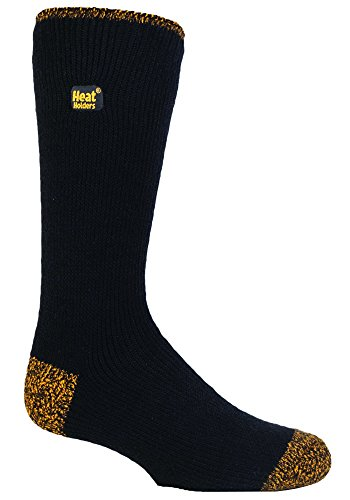Heat Holders - Mens Workforce Reinforced Heel and Toe Work Socks (7-12 US)