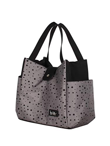 Lite Boarding Tote - Nicole Miller Luggage Insulated Lunch Tote Bag (Dot Insulate)