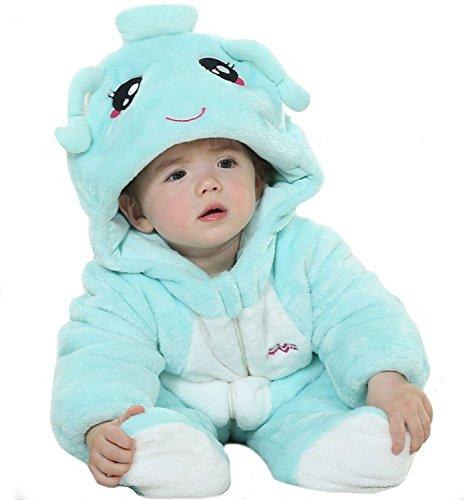 [FashionFits Baby Unisex Winter One Piece Nightwear Siamese Fancy Dress Costume 100] (Bond Girl Fancy Dress Costumes)