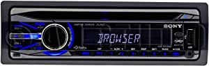 Sony CDXGT540UI MP3/WMA/AAC Player CD Receiver (Black)