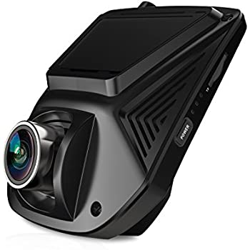 "Z-EDGE S2 Dash Cam, Dashboard Camera Recorder with Sony Exmor Sensor, 2.45"" LCD, 170 Degree Wide Angle, FHD 1080P, WDR, Night Vision, G-Sensor, Parking Monitor(16GB SD Card Included)"
