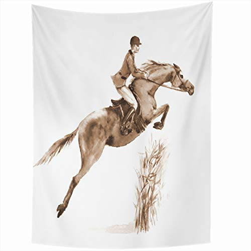 AlliuCoo Wall Tapestries 50 x 60 Inches Wall