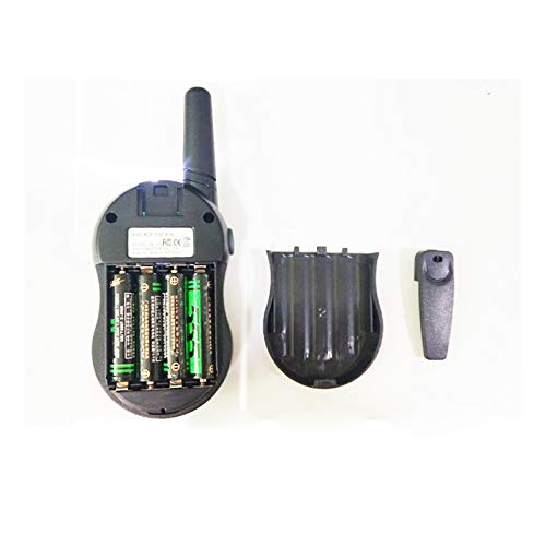 HM2 Children's Toy Walkie-Talkie Handheld Intercom Multi-Party Call, Suitable for Parent-Child Interactive Outdoor Toys,Blue by HM2 (Image #2)