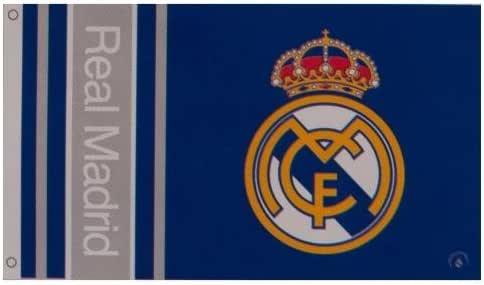 Real Madrid F.C. Bandera WM Merchandising Oficial: Amazon.es: Deportes y aire libre