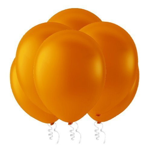 Inc 12POR Creative Balloons 12 Latex Balloons Pastel Orange Creative Balloons Mfg Pack of 144 Piece