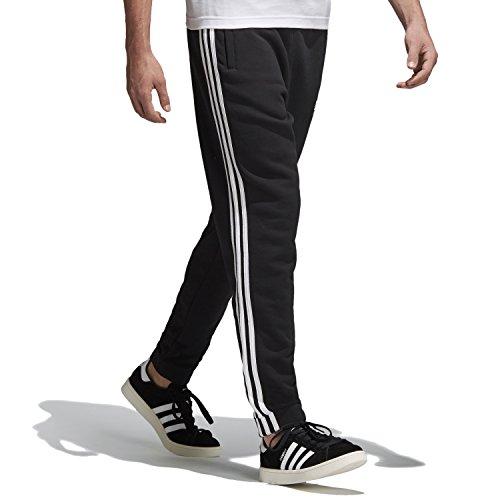 3 Sweatpants - adidas Men's Originals 3 Stripes Sweatpants, Black, S
