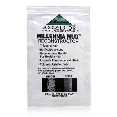 (Excelsior Botanical Hair Systems Millennia Mud Intensive Hair Reconstructor 1 Packet (0.676 oz) by Excelsior)